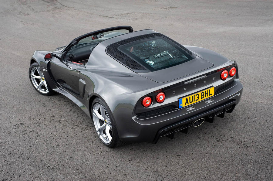 Lotus Exige S Roadster rear quarter