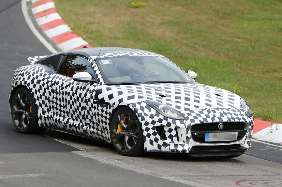 Jaguar F-Type R Coupe spotted