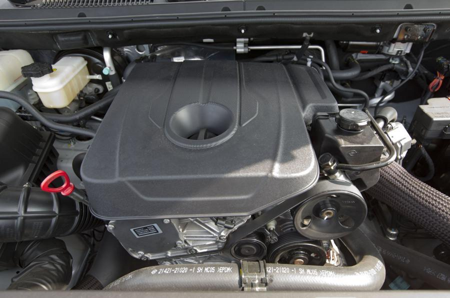 2.0-litre SsangYong Turismo diesel engine