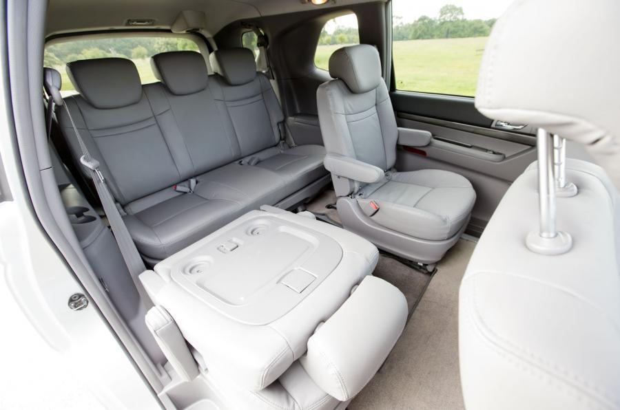 Ssangyong Turismo third row seats