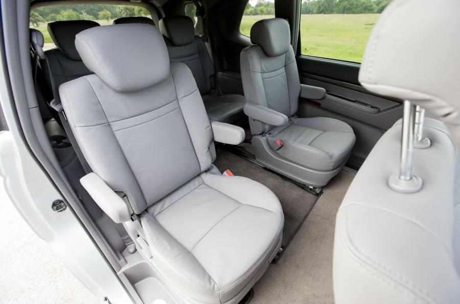 SsangYong Turismo middle row seats