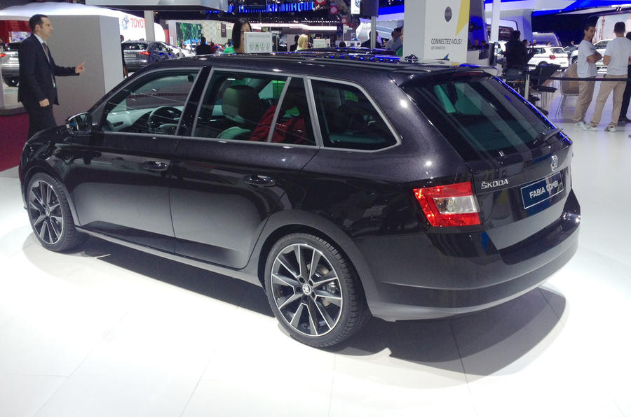 New estate-bodied Skoda Fabia Combi features a 530-litre boot