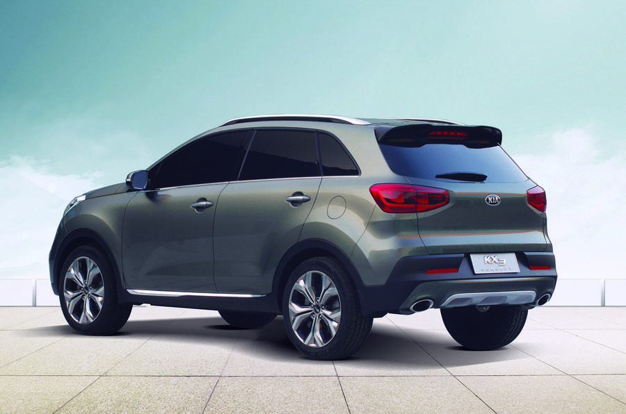 New Kia KX3 concept aims for China