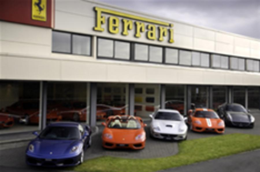 Buy a bargain Ferrari with confidence