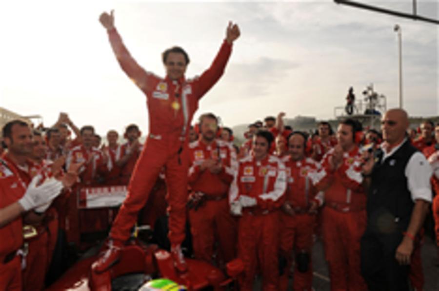 Massa returns to race action