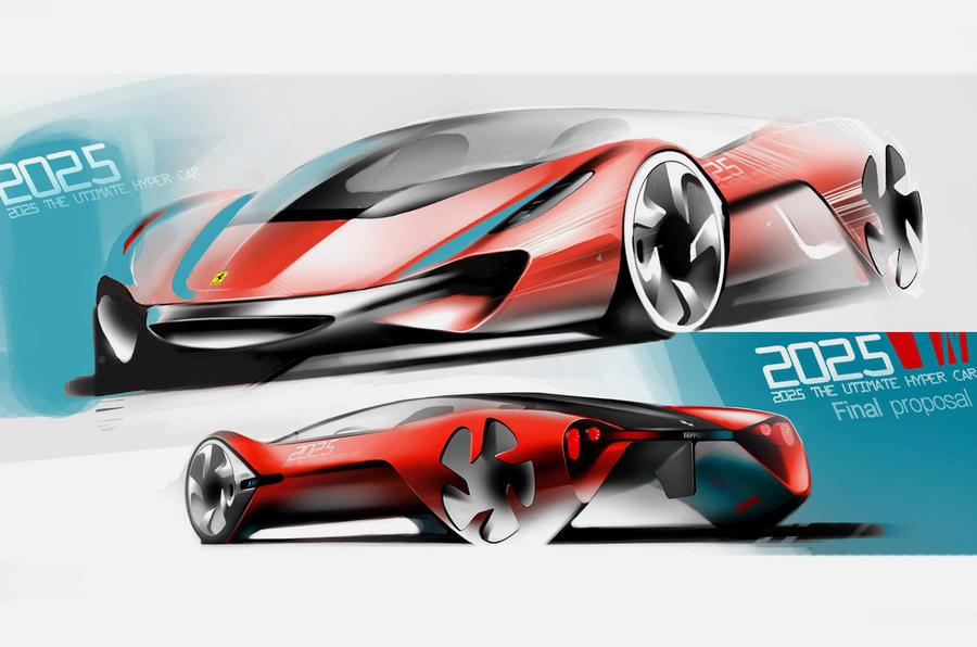 ... Ferrariu0027s Car Of The Future ...