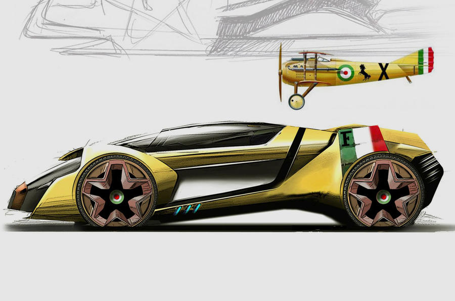 Ordinaire ... Ferrariu0027s Car Of The Future ...