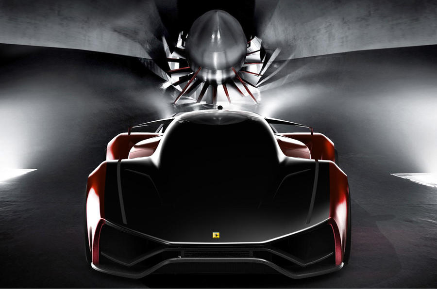 Ferrari's car of the future