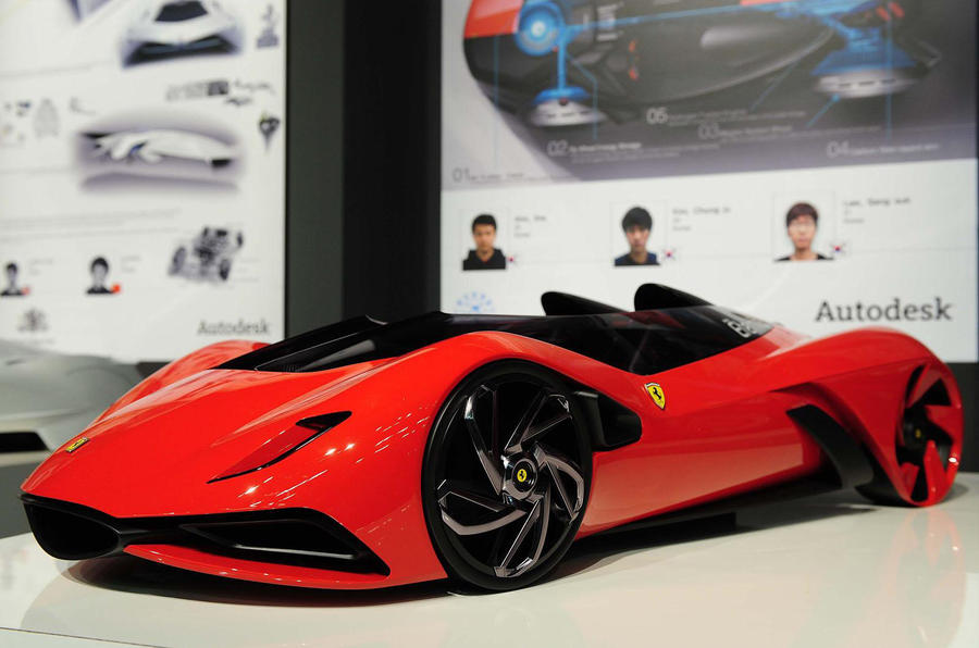 ferrari s car of the future autocar. Black Bedroom Furniture Sets. Home Design Ideas