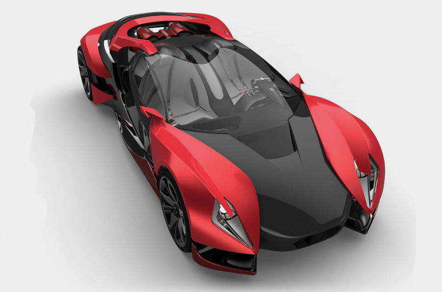 Ferrari's car of the future