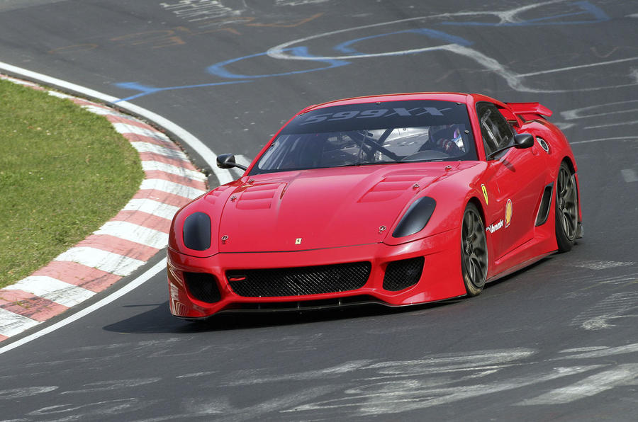 Ferrari 599XX's 'Ring record