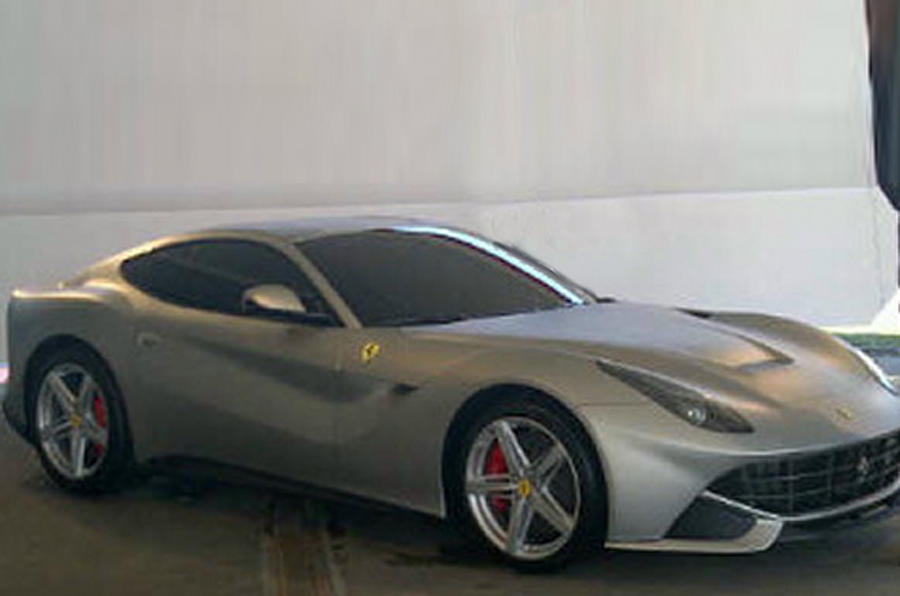 Ferrari 599 successor leaks out