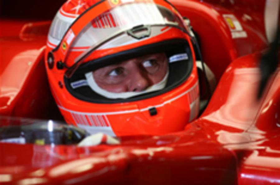 Schuey returns but Hamilton's faster