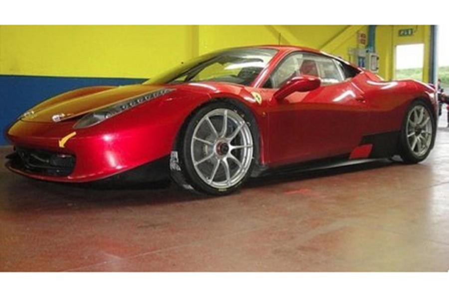 Ferrari 458 Italia racer - first pics