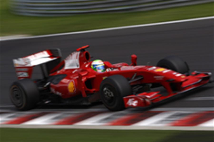 Massa makes race return