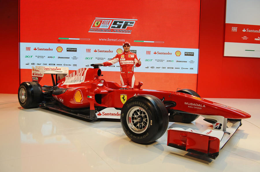 Ferrari launches 2010 F1 car