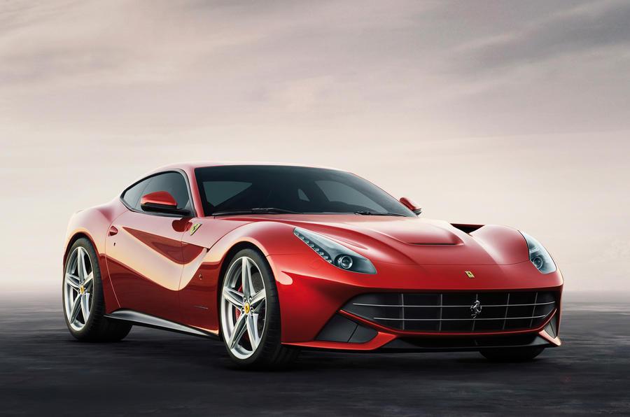 Geneva show: Ferrari F12 Berlinetta