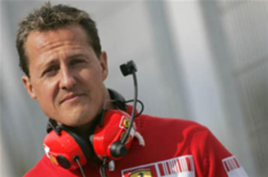 Schumacher to test again