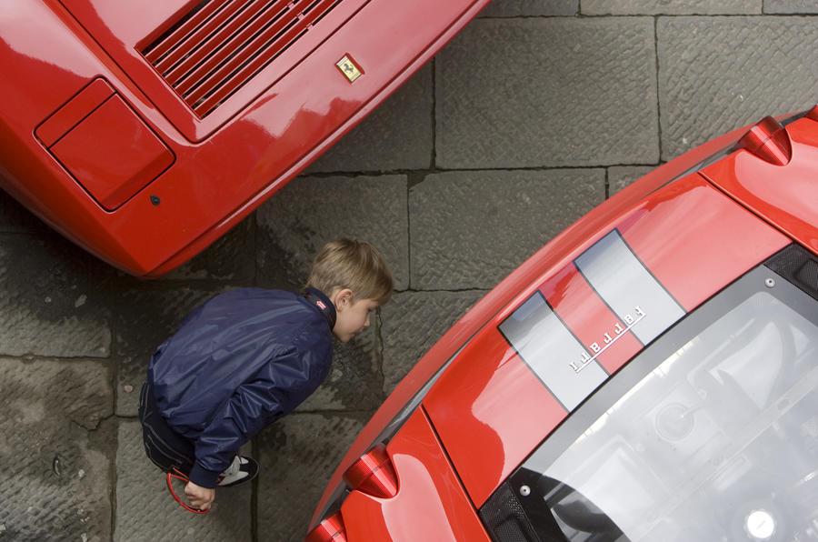 Ferrari F430 at Mille Miglia