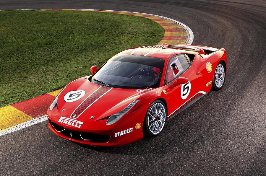 Ferrari 458 Challenge launched