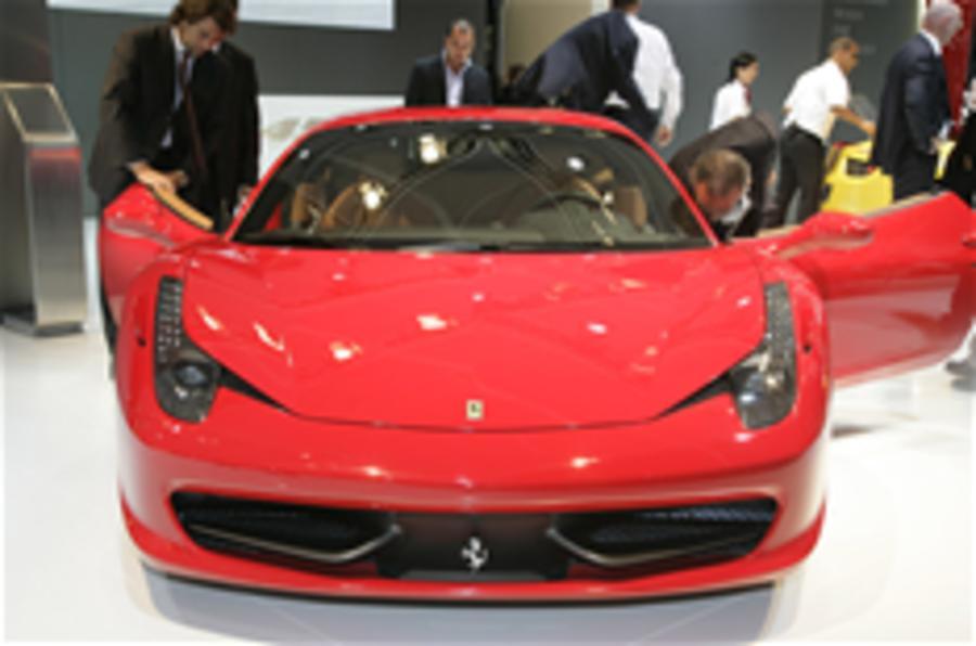 Frankfurt motor show: Ferrari 458