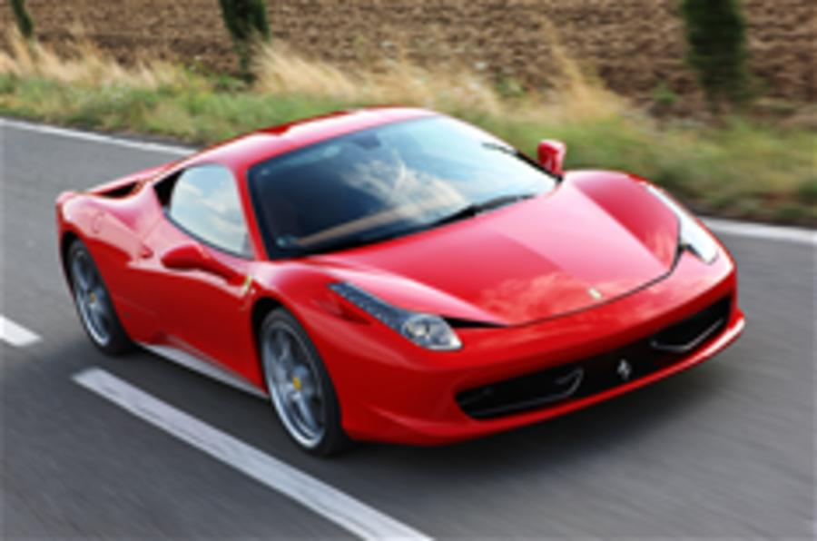 Ferrari 458 prices 'revealed'