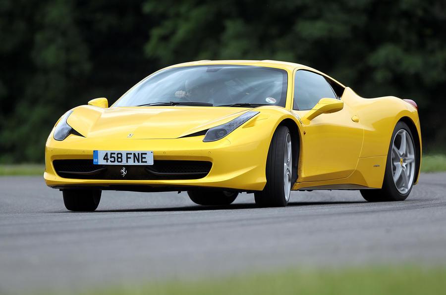 Ferrari investigating 458 fires
