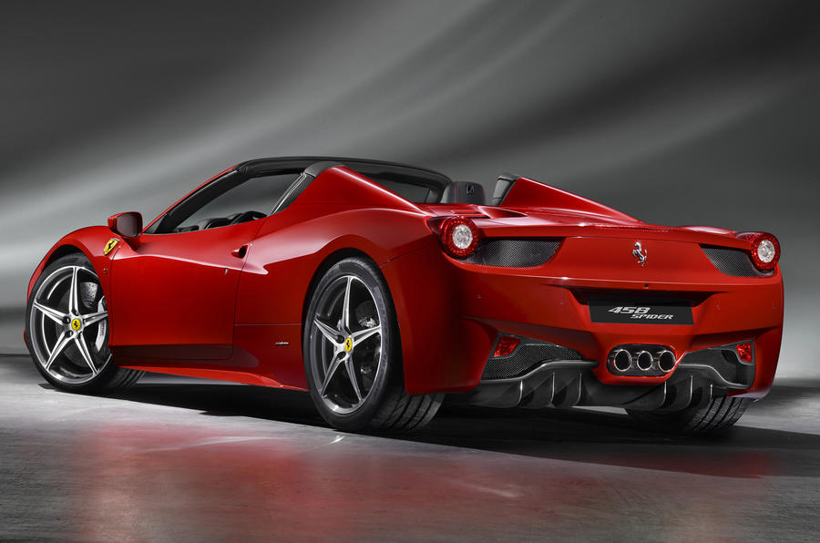 Frankfurt show: Ferrari 458 Spider