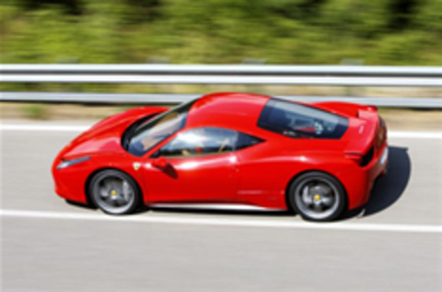 Ferrari 458 'designed by aero'