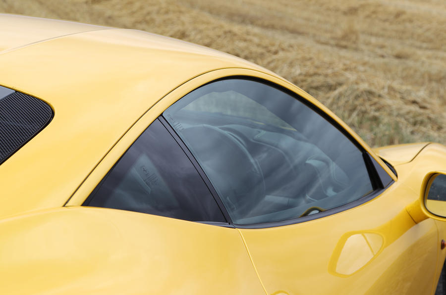 Ferrari 458's F430-inspired hunches