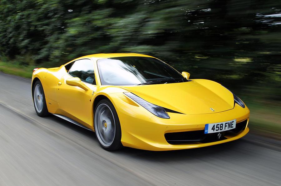 Ferrari 458 ...
