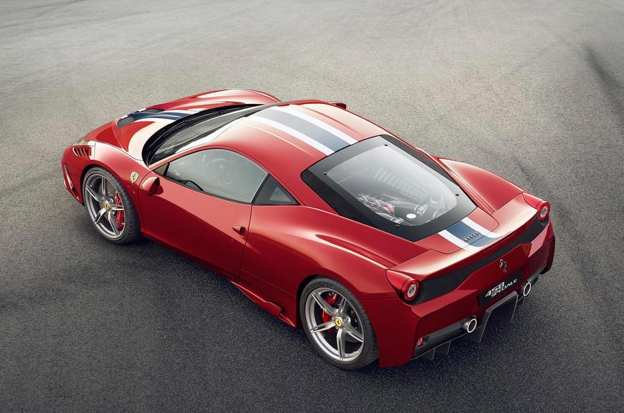 Frankfurt motor show 2013: Ferrari 458 Speciale