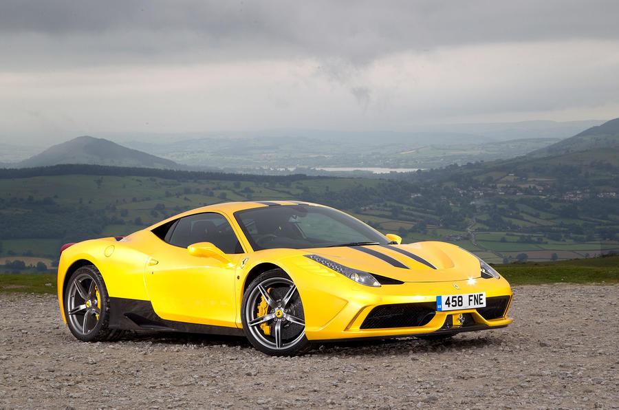 5 star Ferrari 458 Speciale