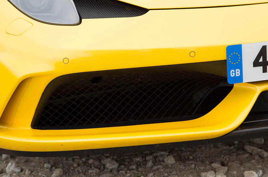 Ferrari 458 Speciale air intake