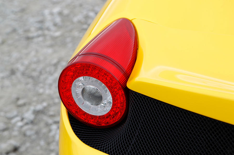 Ferrari 458 Speciale rear lights