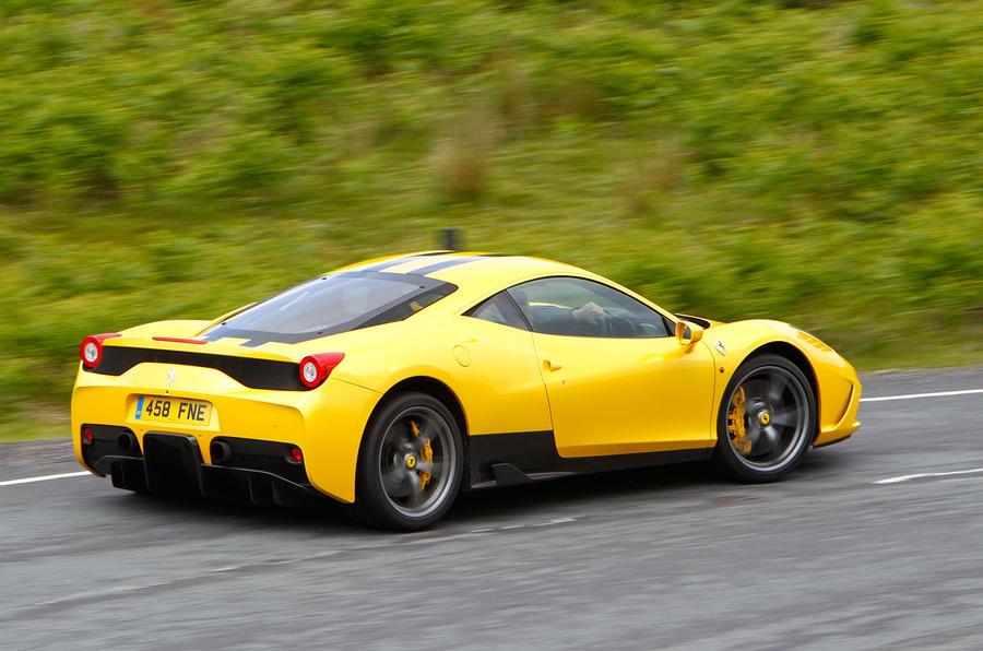 202mph Ferrari 458 Speciale