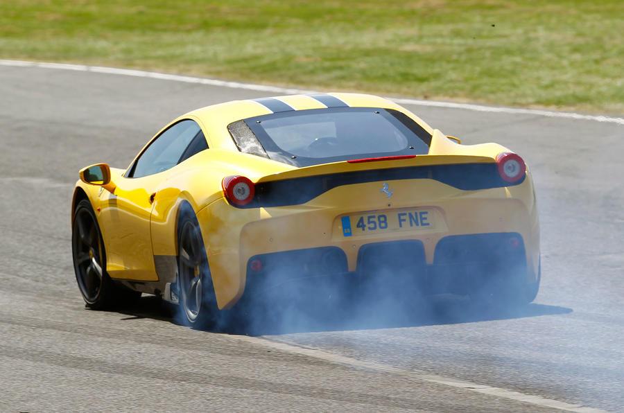 The 597bhp Ferrari 458 Speciale