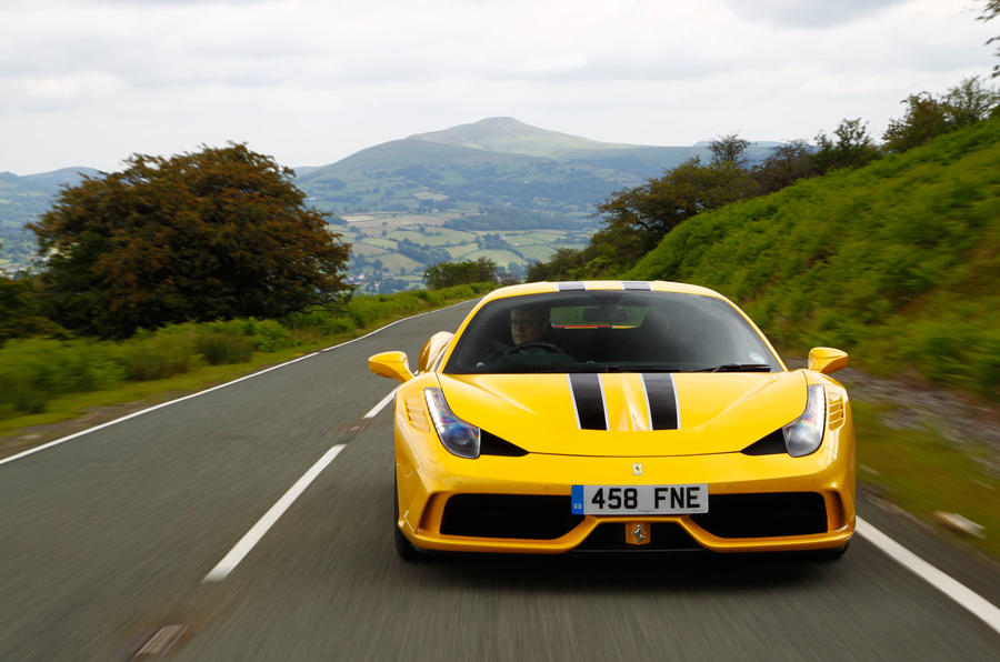 Ferrari 458 Speciale UK first drive review