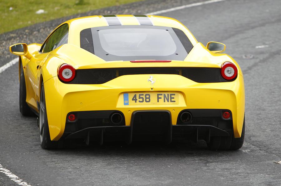 Ferrari 458 Speciale UK first drive