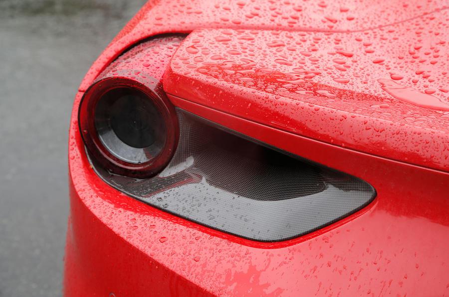 Ferrari 488 GTB rear light