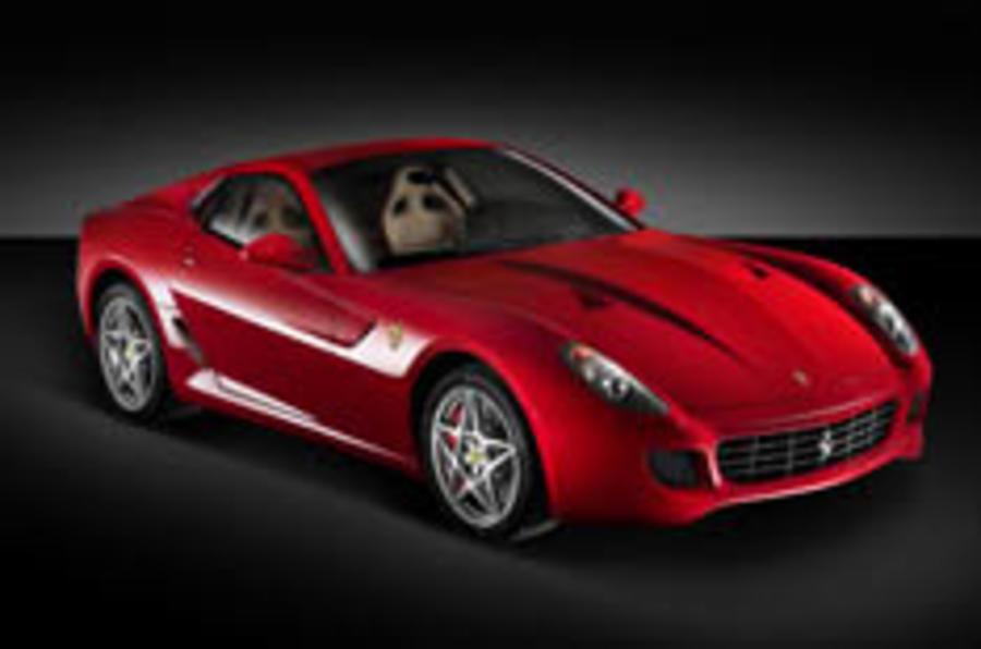 Ferrari unveils the 599 GTB