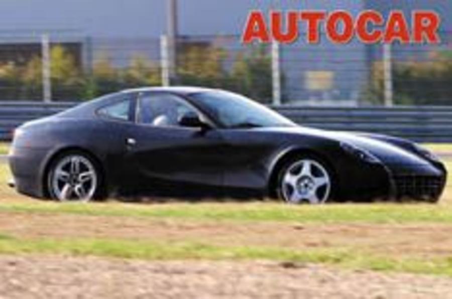 Ferrari testing 575 successor