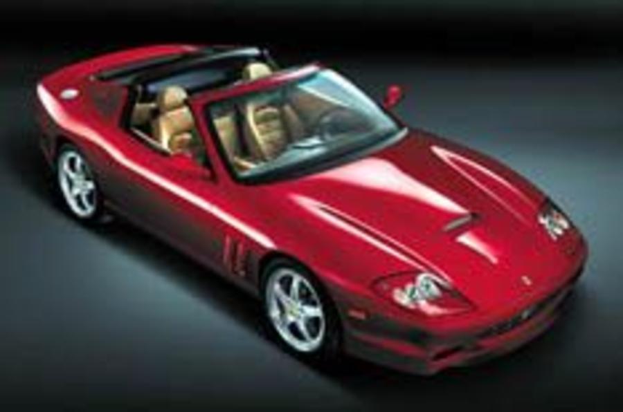 Ferrari flips the lid on 575