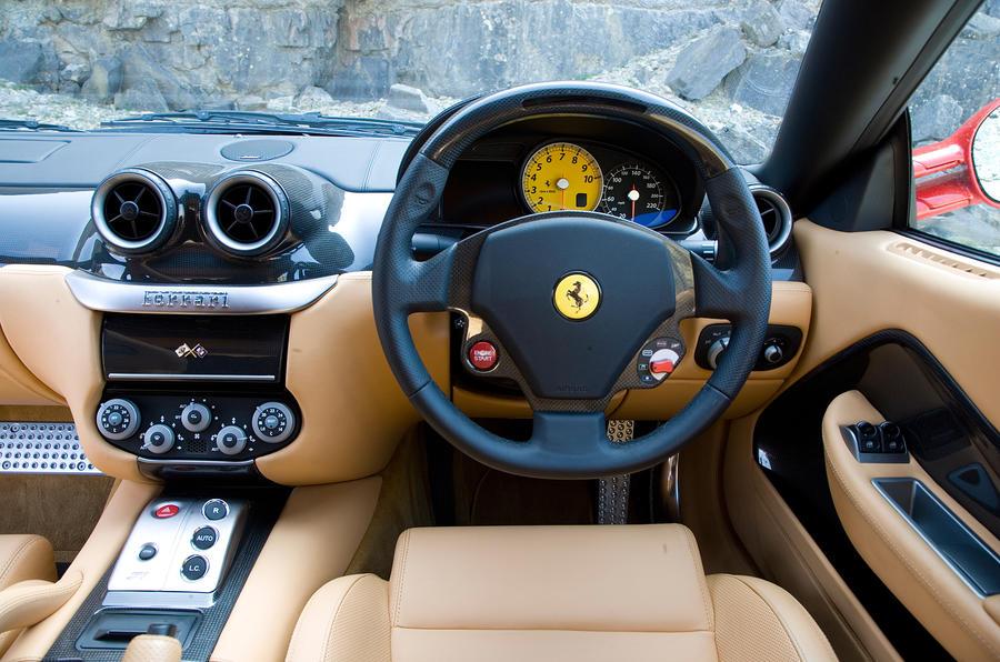 Ferrari 599 dashboard