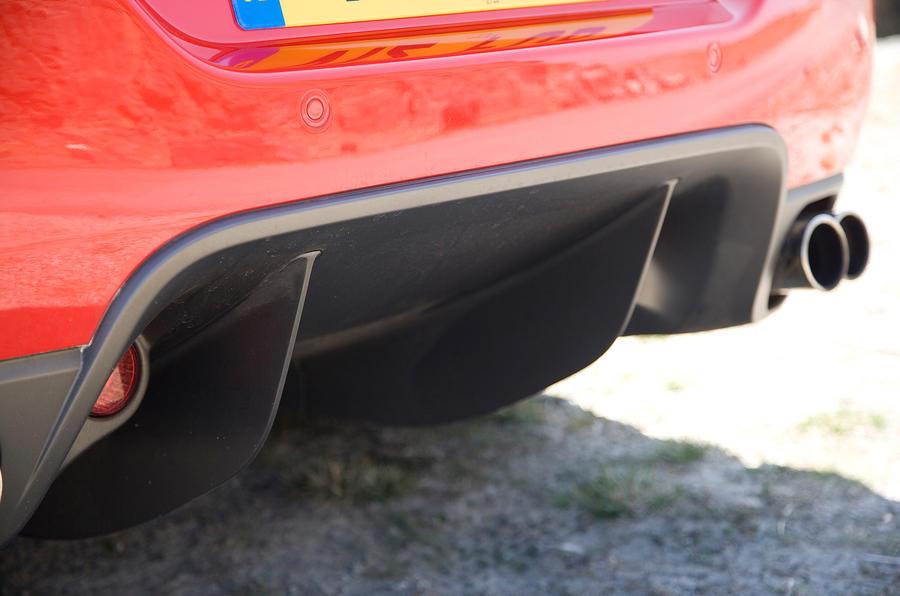 Ferrari 599 rear diffuser