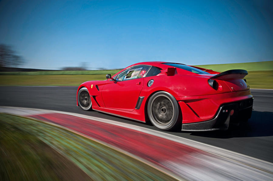 Ferrari 599XX drive on video
