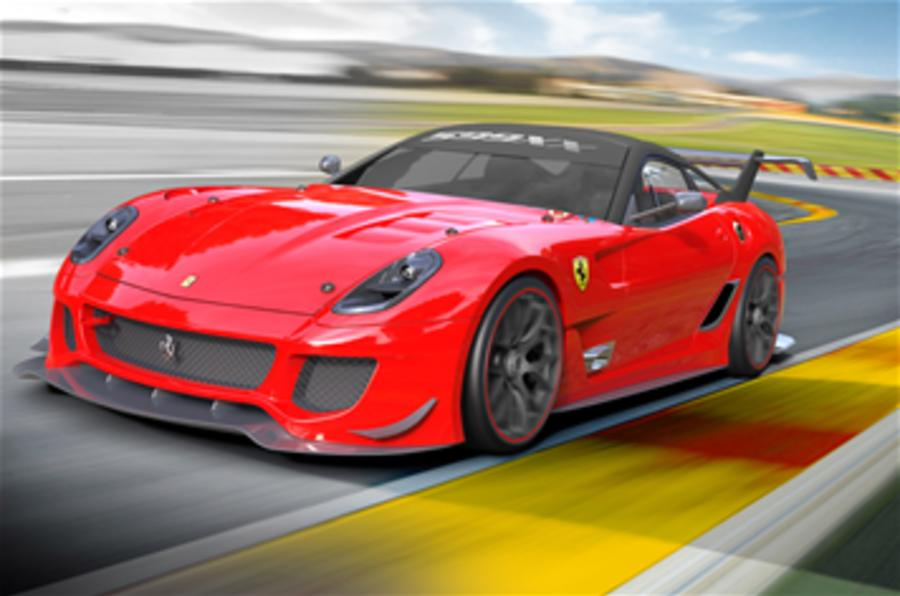 Ferrari 599XX gets upgrade pack
