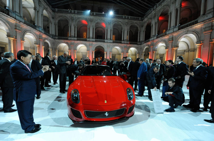 Ferrari 599 GTO 'sold out'