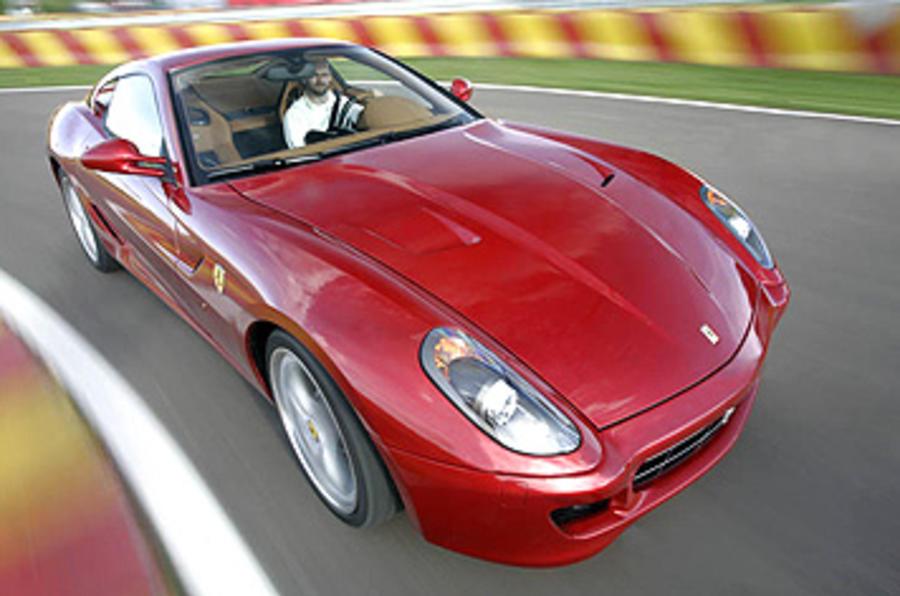Geneva motor show: Ferrari 599 hybrid