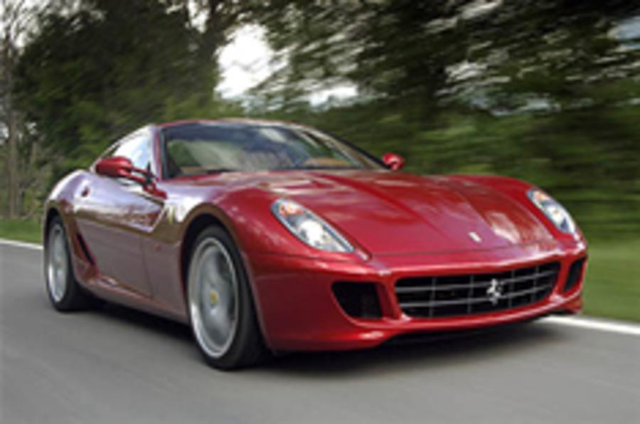 Ferrari boss to auction his 599
